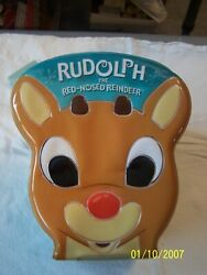 Carlton Cards Holiday Ornament Set Rudolph The Red-nosed Reindeer  2003
