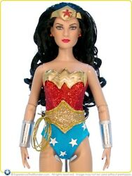 2010 Dc Stars Limited Edition Tonner Wonder Woman Doll =mint In Shipper=