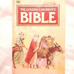 The Golden Childrens Bible Illustrated Book Hardcover  1993 Golden Books