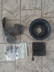 1976 1977 Ford 351m 400 Air Conditioning A/c Pulley Compressor Mount And Idler