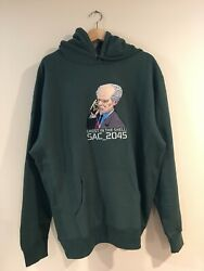 Aoi Industry X Ghost In The Shell Sac_2045 Sweatshirt Hoodie Size Xl Brand New