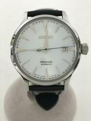 Seiko Presage Sary075 Date Japan Box Used Automatic Mens Watch Authentic Working