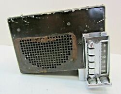 1948-1950 Packard Push Button Am Radio Pa 393607 Philco Pa-735 Standard Delux 8