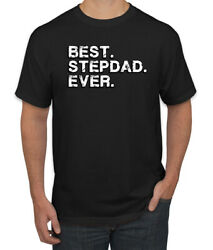 Best Stepdad Ever Fatherand039s Day Mens Graphic T-shirt