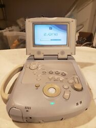 Zonare Z. One Scan Engine Portable Ultrasound System W/ Battery And Transducer