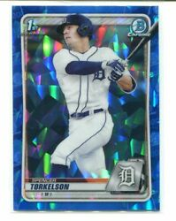 2020 Bowman Chrome Sapphire Spencer Torkelson 1st Rookie Rc Tigers A