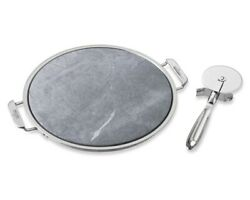 All-clad 14 Round Pizza Stone And Cutter Set