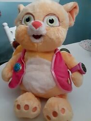 Disney Store Special Agent Oso Dotty Cat Stamped Disney Store Plush