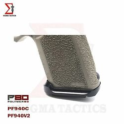 Aluminum Flared Metal Magwell Fits P80 Pf940c Pf940v2 Anodized Finished P_80