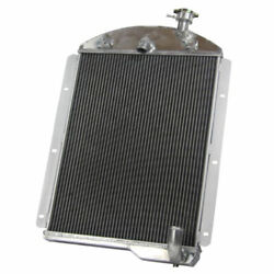 Aluminum Racing Cooling Radiator For 1941-1946 Chevy Pickup Truck Small Block L6