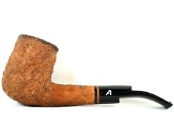 Vintage Ascorti Business Rustic Sand Blast Tobacco Pipe Hand Made In Italy