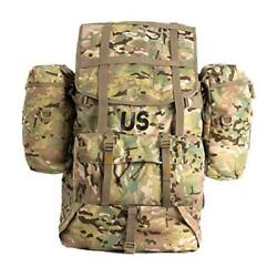 Military Molle 2 Large Rucksack With Frame Army Tactical Backpack Multicam