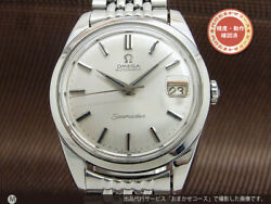 Omega Seamaster Ref.166.010 Vintage Date Cal.562 Automatic Mens Watch Auth Works