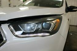 2017 Ford Escape Driver Left Oem Headlight Halogen Lamp W/ Led Accent Blacked
