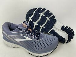 New Brooks Womenand039s Ghost 12 Running Shoes Lavender/char Wide 1203051d0 145c Tz