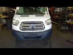 Front Clip Chrome Grille White Paint Code Yz Fits 15-18 Transit 150 761223