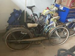 Evans /colson Antique Womenand039s Super Deluxe Interceptor 600 Bicycle Complete