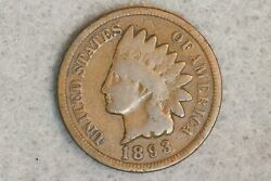 1893 1c Indian Head Cent Penny Early Us Type Coin