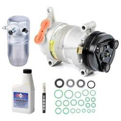 For Chevy C3500hd And Gmc C3500hd 01-02 Oem Ac Compressor W/ A/c Repair Kit Gap