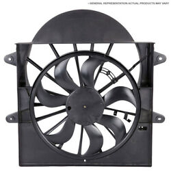 For Saab 9-3 2004-2010 Left And Right Side Cooling Fan Assembly Gap