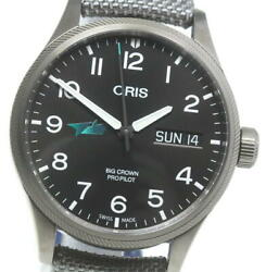 Oris Lima Limited Edition Day-date 01 752 7698 4224 Automatic Menand039s Watch U0603