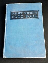 Antique 1919 Relief Society Song Book Hymns Mormon/lds Church -emmeline B. Wells