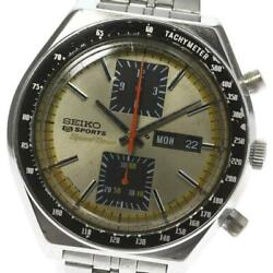 Seiko 5 Sports Speed timer Chronograph 6138-0030 Automatic Menand039s Watch [b0603]