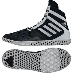 Adidas Flying Impact Wresting Boots Adult Mens Black Boxing Shoes Gym Trainers