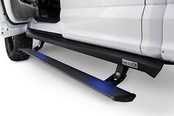 Running Board-xl Crew Cab Pickup Amp Research 77151-01a Fits 17-18 Ford F-150
