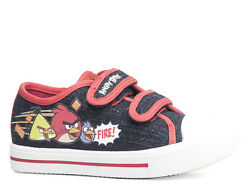 Shoes Casual Low Shoes Boysand039 Shoes Angry Birds Black Red 28-35 7