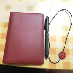 HOBONICHI COVER TIGHT A6 RIVET BAND SHERBO FROM JAPAN*EX CONDITION $102.08