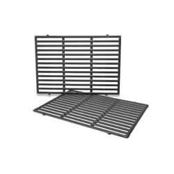 Cast Iron Cooking Grates 2-pack Weber Genesis Ii Lx 310 335 66095 E-340/s-340