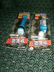 Rusty's 2 Helmet And Tractor Trailer Pez Dispensers2 New On Original Cards