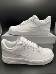 Nike Air Force 1 And03907 Low Menand039s Triple White 6.5 To 14 All Sizes New Cw2288-111
