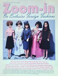 9pg History Article And Pics Barbie Zoom In On Exclusive Foreign Fashions - Pan Am