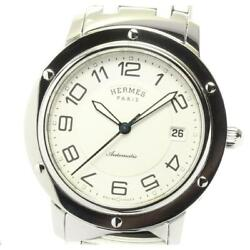 Hermes Clipper Classic Cp2.810 Automatic Stainless Steel Men's Watch [b0604]