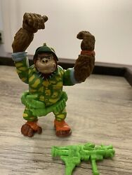 Vintage Tmnt Sergeant Bananas Excellent Cond. With Accessories 1991 Playmates