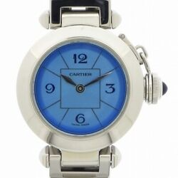 Auth Watch Miss Pasha W3140024 Japan Limited Stainless Steel Quartz