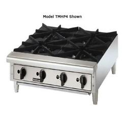 Toastmaster - Tmhp6 - 36 In Pro-seriesandtrade Countertop Gas Hot Plate