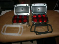 1 Pair Of Tail Light Light Kit For 1965-66 Ford Mustang W/ Plug
