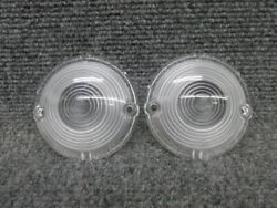 Pair Of 1957 Chevy Turn Signal Light Lamp Parking Light Lens - Nors