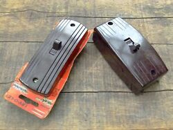 Pair Of Old Bakelite Light Switches Single Pole And Three Way