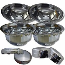 2003-2018 Dodge Ram Truck Wheel Liners And Center Caps 3500 Dually 17 Skins Cover