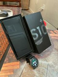 Combo Samsung Galaxy S10 128gb Prism Black Fully Unlocked And Galaxy Watch 42 Mm