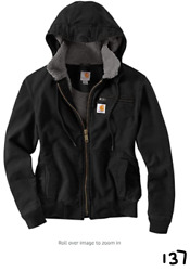 Womenand039s Weathered Duck Wildwood Jacket Black Small