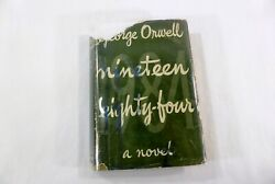 Nineteen Eighty-four 1984 George Orwell 1949 Secker And Warburg Uk Edition