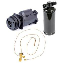 For Chevy Biscayne Caprice Chevy Ii Oem Ac Compressor W/ A/c Repair Kit Gap