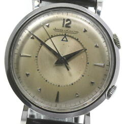 Jaeger-lecoultre Memo Box Antique Manual Winding Silver Dial Menand039s Watch [u0605]