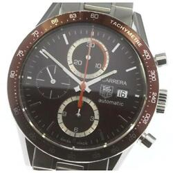 Tag Heuer Carrera Chronograph Cv2013 Automatic Stainless Men's Watch [b0605]