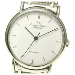 Portofino Automatic White Dial Stainless Menand039s Watch From Japan [b0605]